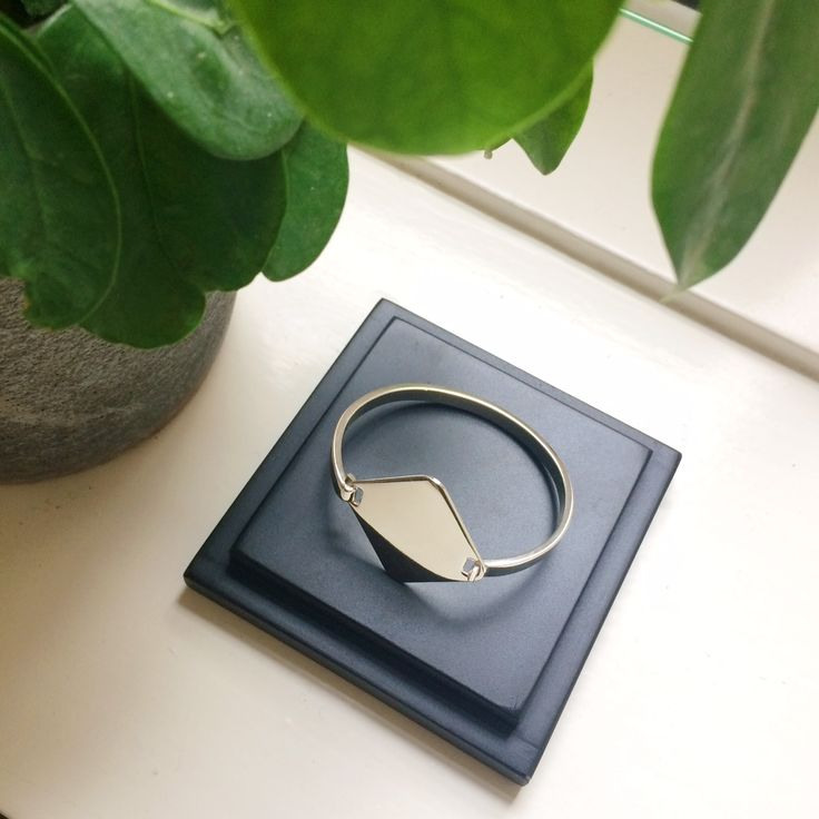 A Y M Silver Bracelet