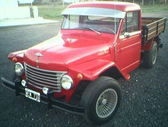 Rastrojero Diesel - 1952