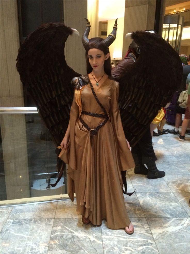 Maleficent cosplay Dragoncon 2014