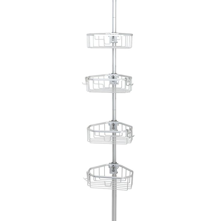 Rust Proof Shower Pole Caddy