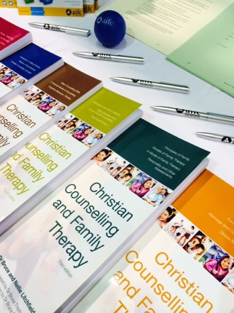 The Christian Counselling and Family Therapy Volumes were on display at the 2014 One Love  Women's Conference.