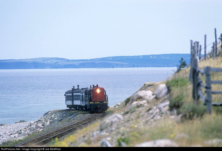 RailPictures.Net Photo: CN 800 Canadian National Railway EMD G8 at Seal Cove, Newfoundland and Labrador, Canada by Joe McMillan
