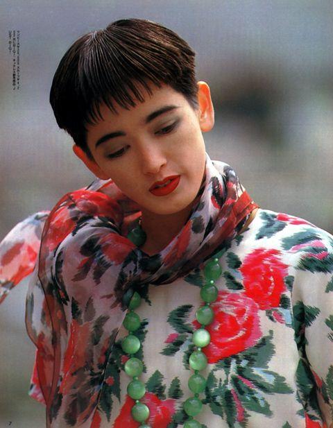 1985 anan 甲田益也子 Miyako Koda