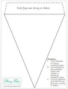 Best 25+ Pennant banners ideas on Pinterest | Bunting template ...