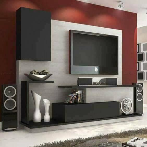 479 Best Media Room Images On Pinterest | Living Room, Tv Units