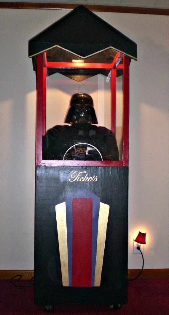 Home Movie Theater Novelty Ticket Booth