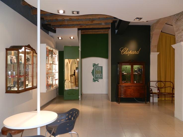 Interior Veni Vidi Vinci Òptics