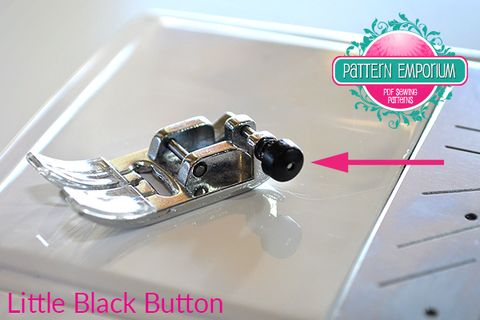 Sewing denim and thick fabrics - the black button