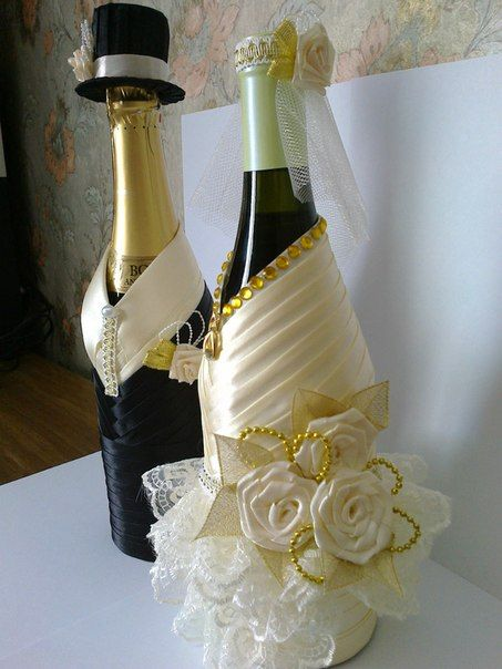 40 Best все к свадьбе Images On Pinterest Decorated Bottles Magnificent Decorated Bottles For Weddings