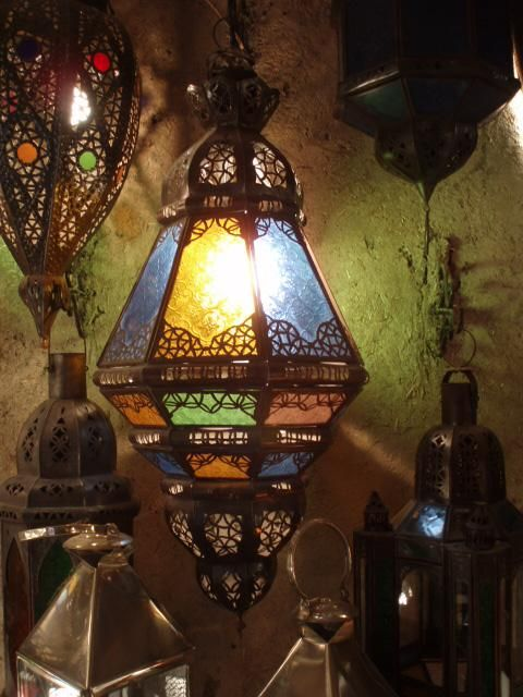 I adore Moroccan design.  There's something so luxurious about it.
