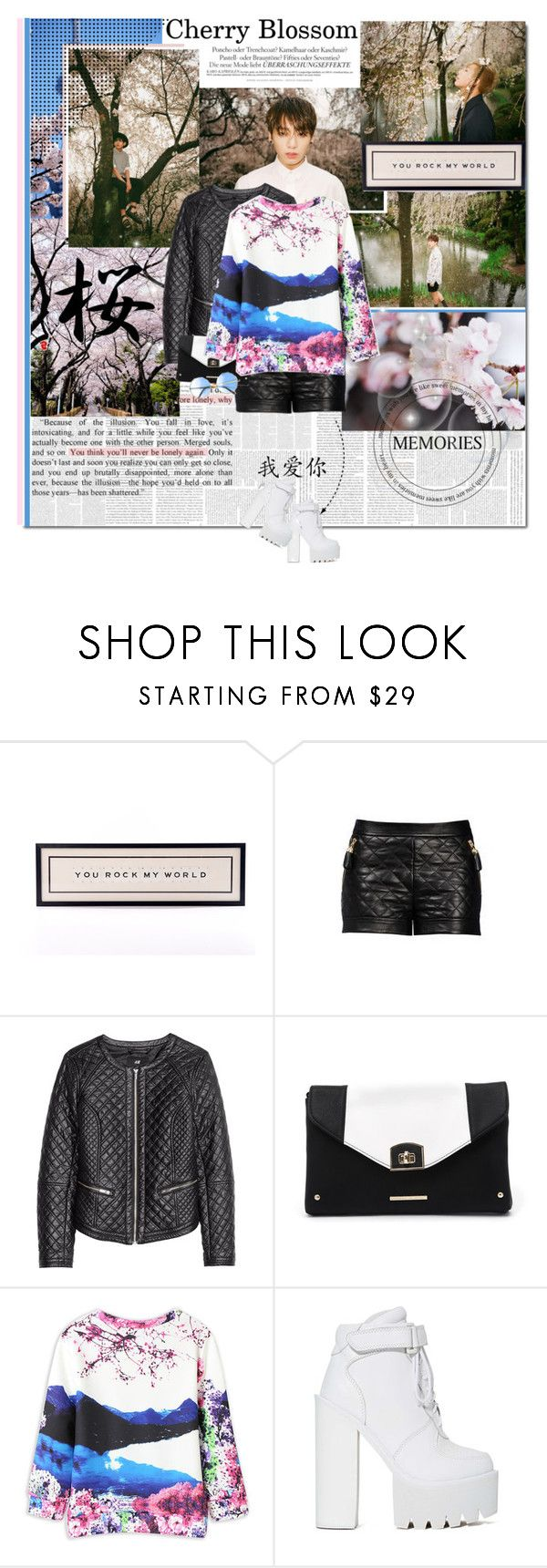 """Revival"" by ioreth ❤ liked on Polyvore featuring WALL, Melissa, H&M, Kardashian Kollection and Jeffrey Campbell"