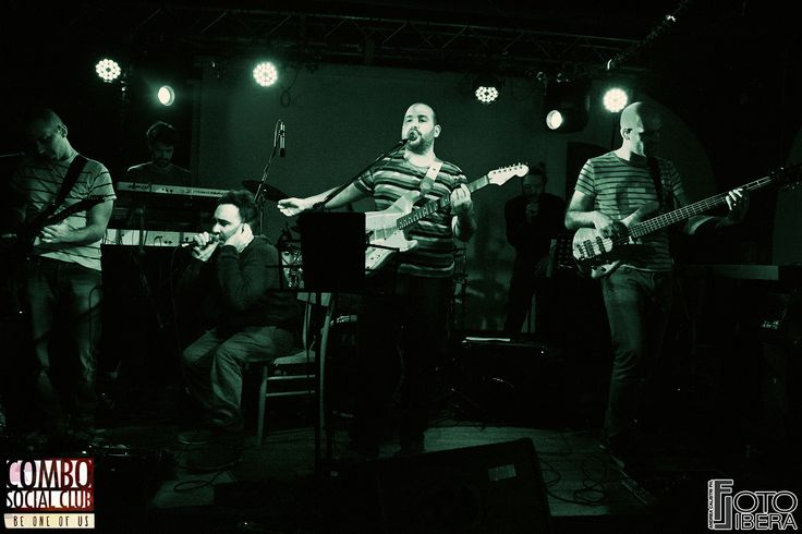 23 Gennaio 2016 - SANDRO.band live + Mr Ferri Dj Set @ Combo Social Club