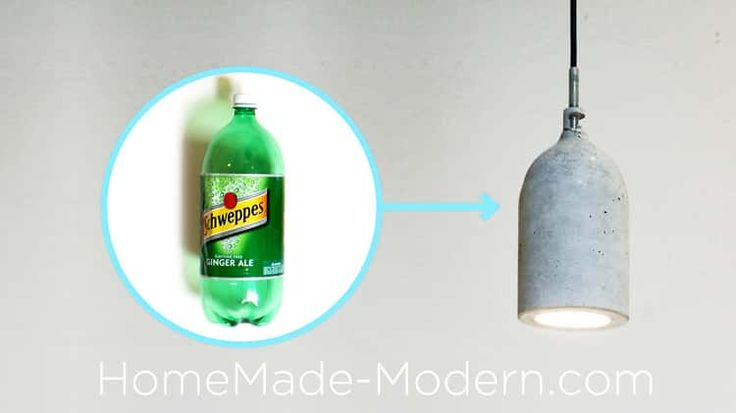Homemade Modern, Episode 9 – DIY concrete pendant lamp