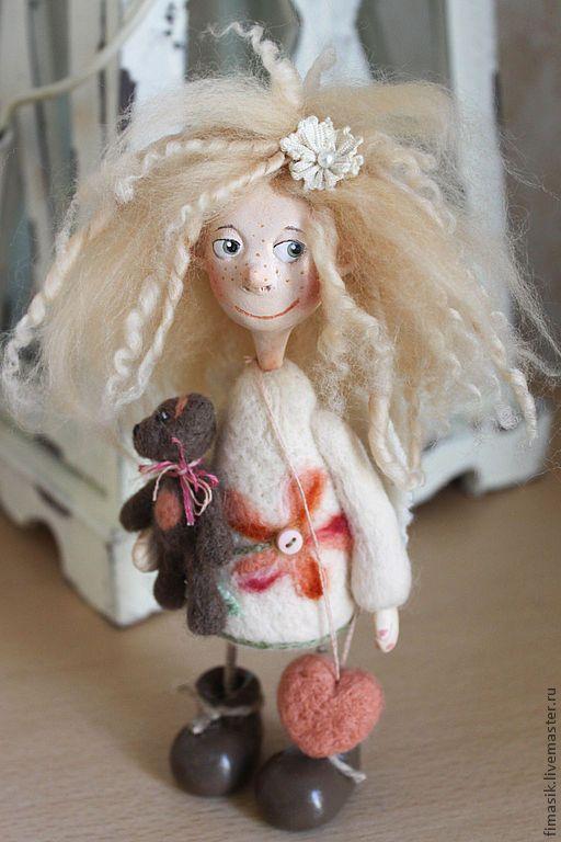 Купить Ангелуша Луша - девочка, домовушка, феечка, сувениры и подарки, оригинальный подарок