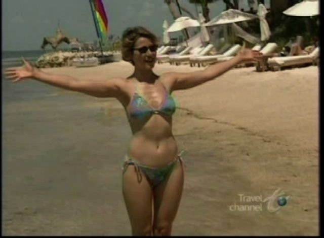 Happens. Let's samantha brown bikini gallery think, that