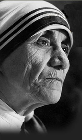 person i admire most mother teresa