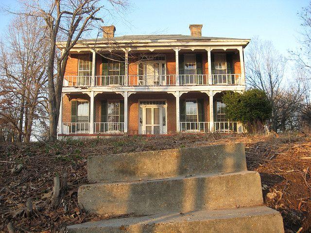 Abandoned House, Oxford, Mississippi.