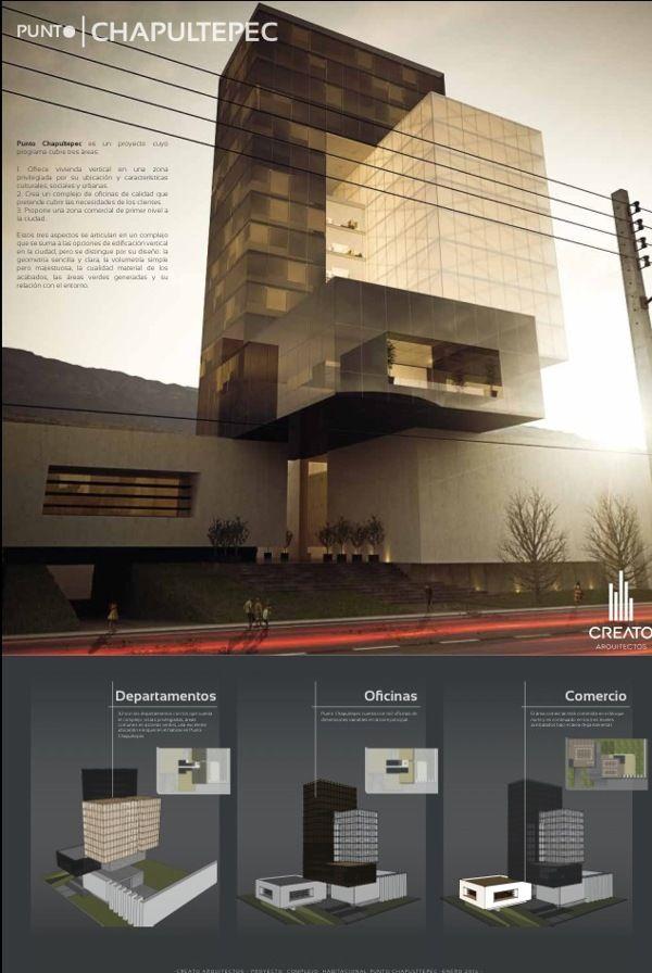 Punto Chapultepec by Creato Arquitectos