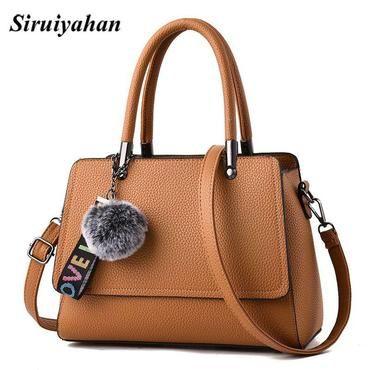 3e13fdbe733 Siruiyahan Messenger Bags Women s Bags for Women 2018 Solid Fur Soft Shoulder  Handbags for Women Handbag Female Bolsa Feminina