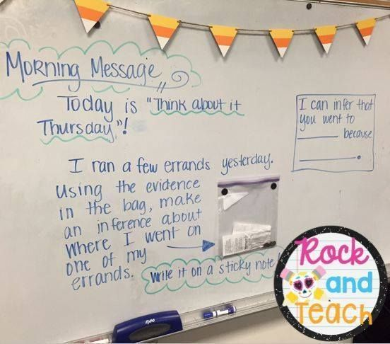 What a fun inference activity! via Rock and Teach