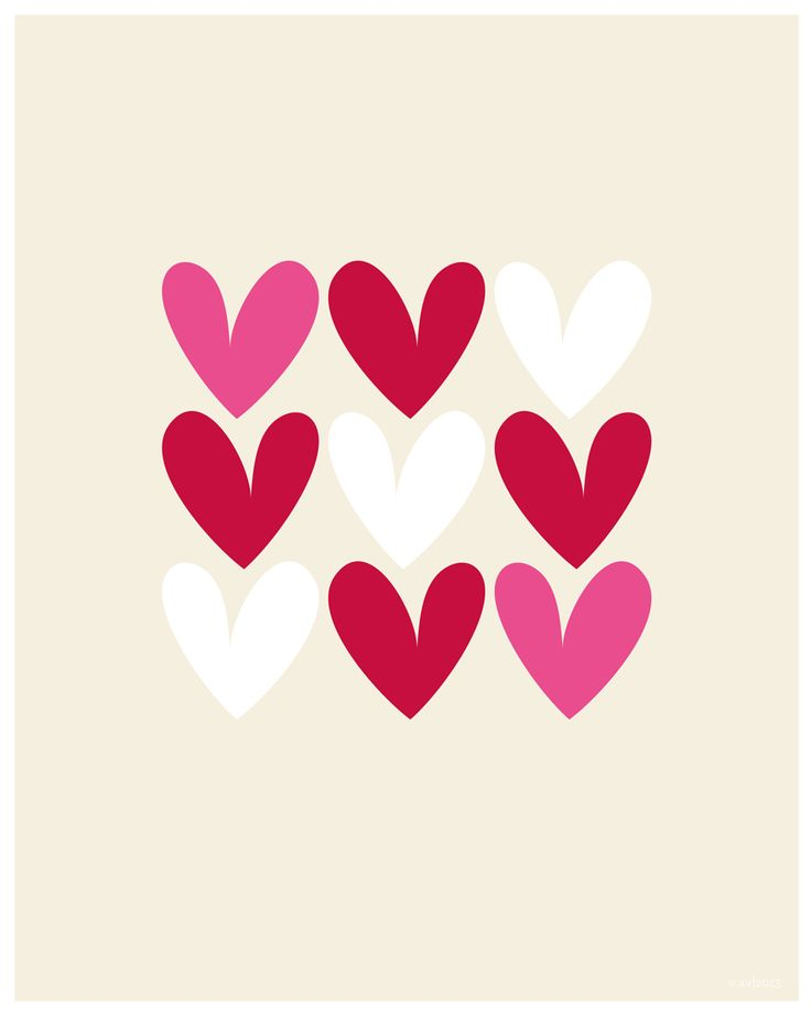 All about Heart print