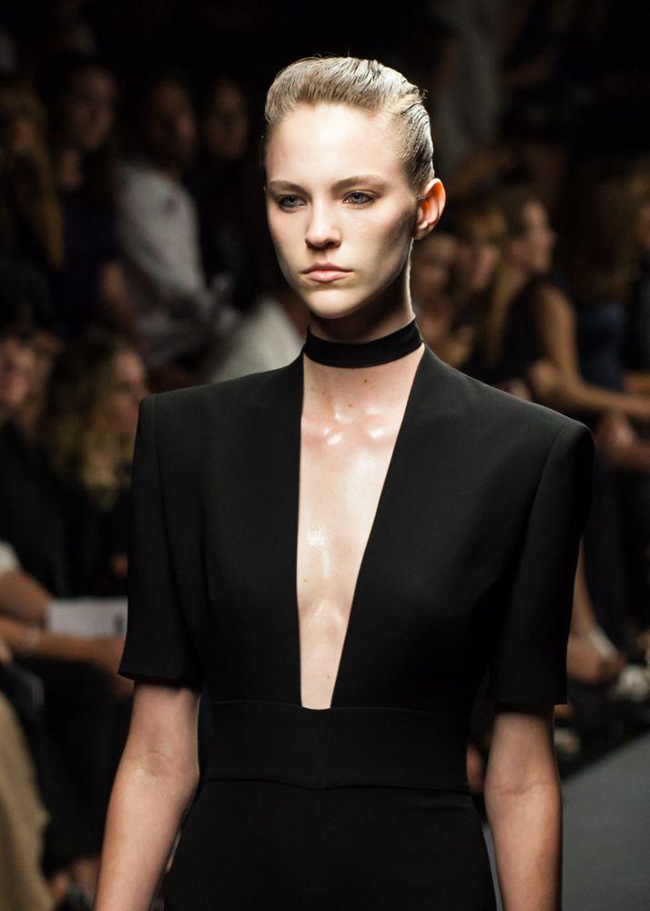 Modern glamour at Carla Zampatti, Mercedes Benz Fashion Week 2014.