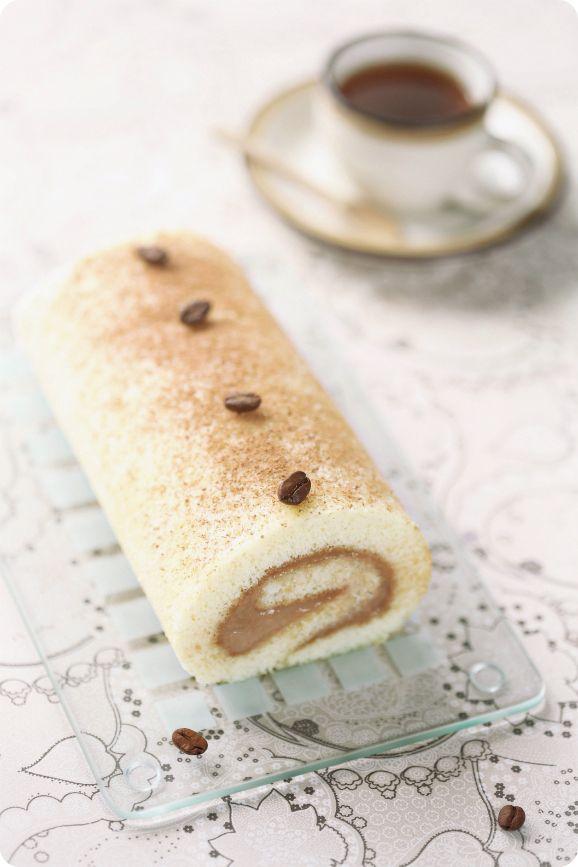 Verdade de sabor: Рулет с кофейным кремом / Torta com creme de café