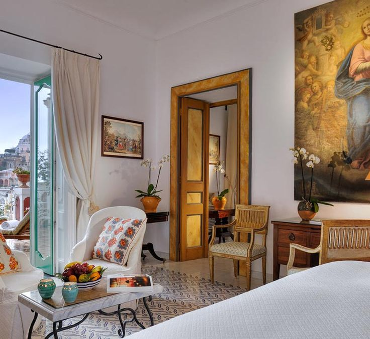 Le Sirenuse hotel – пятизвёздочный отель в Позитано (Италия)