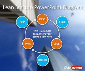 7 best lean startup powerpoint templates images on pinterest lean lean startup diagram for powerpoint is a free powerpoint template containing unique slide designs with the toneelgroepblik Image collections