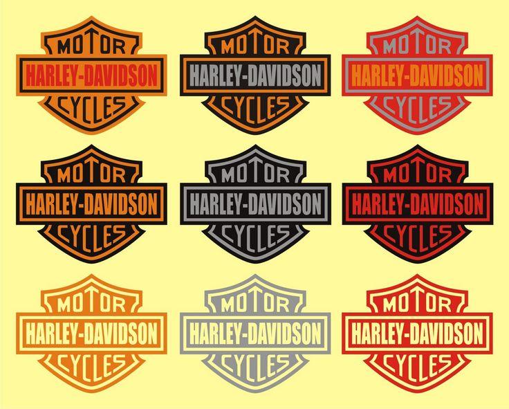 Harley-Davidson Graphic Logo | Harley Davidson Sticker Series