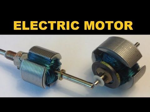 17 best ideas about electric motor on pinterest physics for How does a simple electric motor work