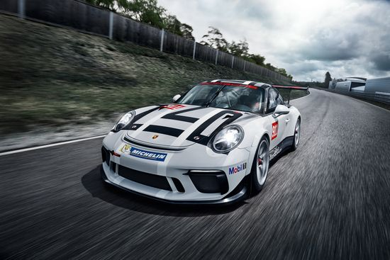 2017 Porsche 911 GT3 Cup - On-Track