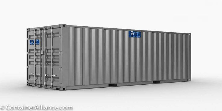 40ft container gray