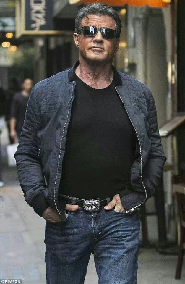 sylvester men With his vigorous physique, sylvester stallone first obtained roles that played on his figure assets before being cast in woody allen's bananas, in 1971 and capone, in 1975.