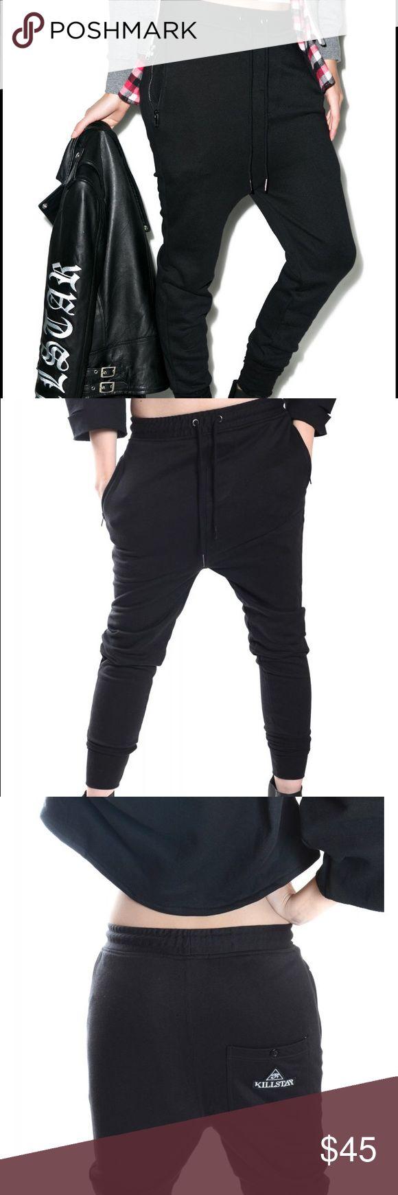 KILLSTAR FTW Dropcrotch Pants KILLSTAR FTW Dropcrotch pants. BRAND NEW WITH TAGS IN ORIGINAL PACKAGING. SIZE SMALL. UNISEX. suuuper comfy. KILLSTAR Pants Track Pants & Joggers