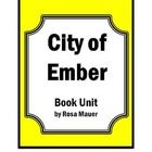 """City of Ember: City of Ember is the focus of this packet. Students will enjoy reading the first book in this series """"The City of Ember"""". Chapter-by..."""