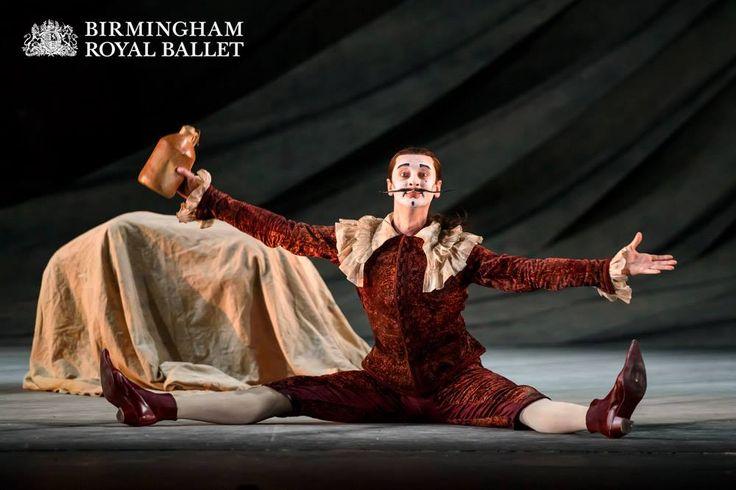 Valentin Olovyannikov as Stephano, the drunken butler in David Bintley's 'The Tempest'