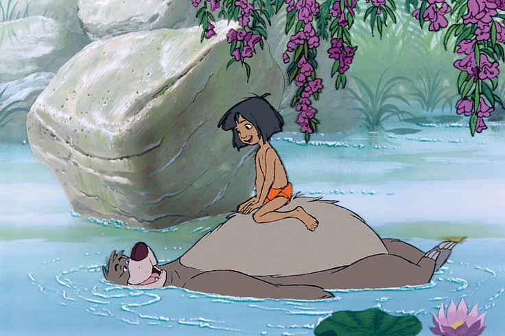 Balu, der Bär, zeigt Mogli die gemütlichen Seiten des Lebens (Foto von: Disney)