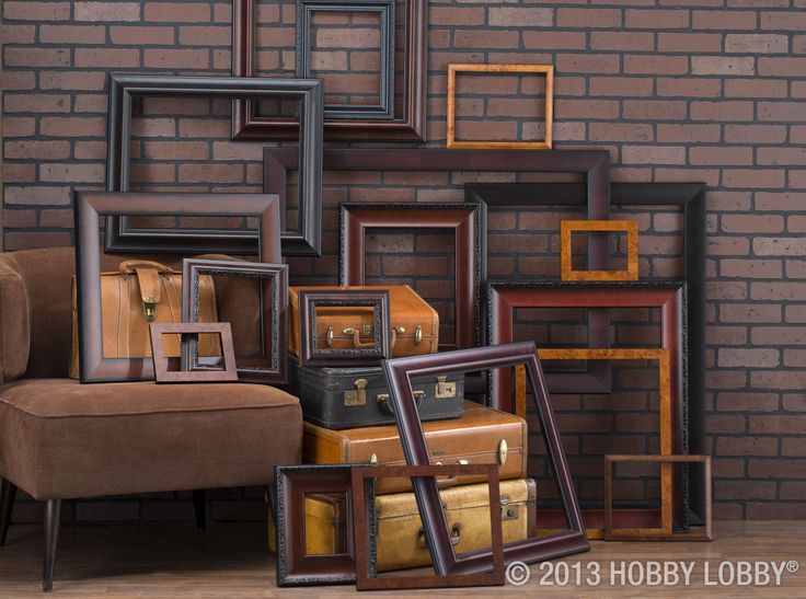each of these beautiful yet sophisticated frames were made by hand visit a custom framing specialist at you local hobby lobby