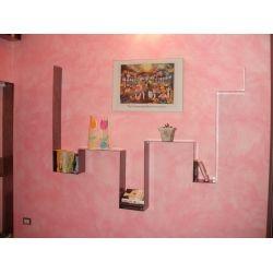 LIBRERIA porta CD DVD Design Ferro . Realizzazioni Personalizzate . 900