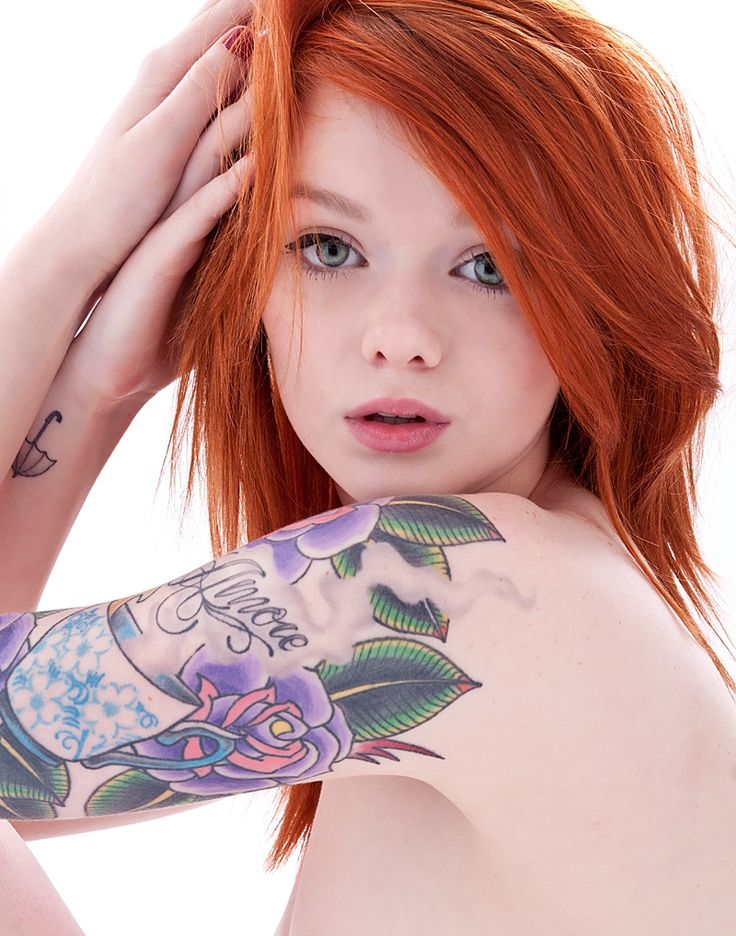 Girls inked - Lass Suicide she is so gorgeous!
