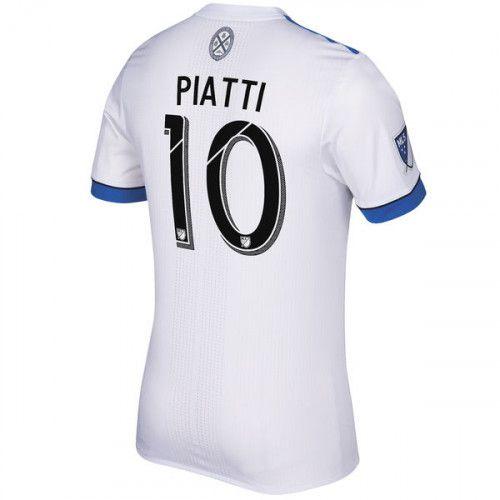 Montreal Impact Ignacio Piatti #8 White 2017 Secondary SOCCER MLS