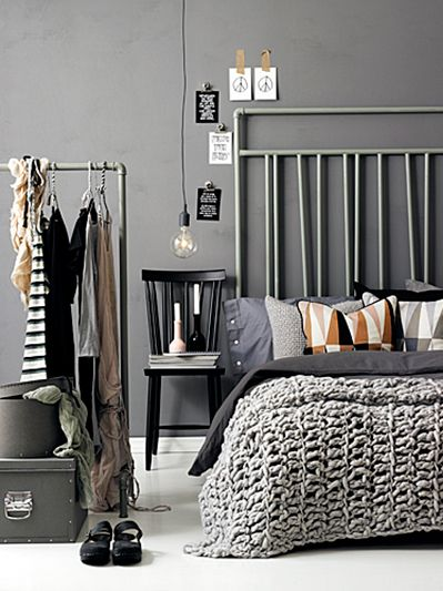 Bedrooms can be modern, retro or formal, but they have to be cozy and elegant.