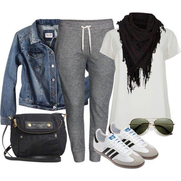 """#plus #size """"Casual in Sweats - Plus Size"""" by alexawebb on Polyvore"""
