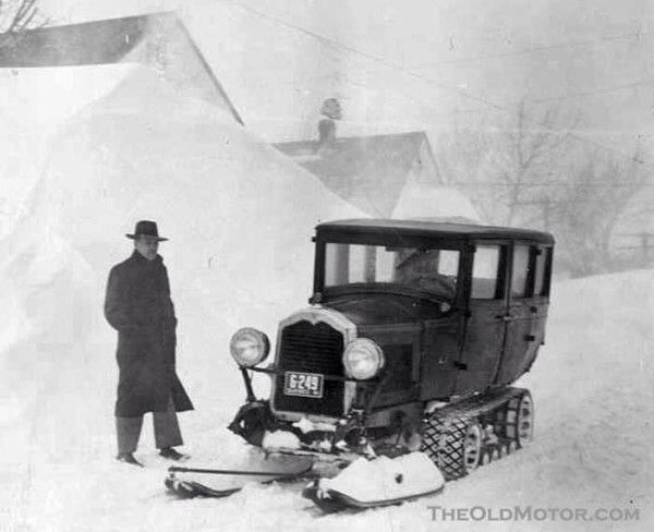 Buick Snowmobile From The 20's #vintage #cars ...