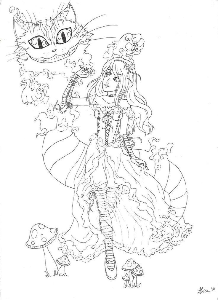 Mejores 592 imágenes de Alice en Pinterest | Dibujos, Libros para ...