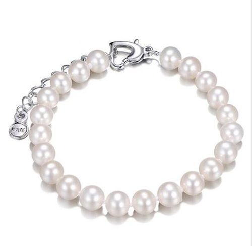 Freshwater 8-9mm Natural Pearls Bracelet