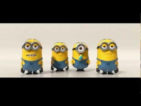 Despicable Me 2 _ Minions Banana Song (2013) - YouTube