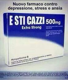 Un rimedio contro pensieri negativi, seghe mentali e, soprattutto, contro le persone che non si fanno mai i CA**I loro!