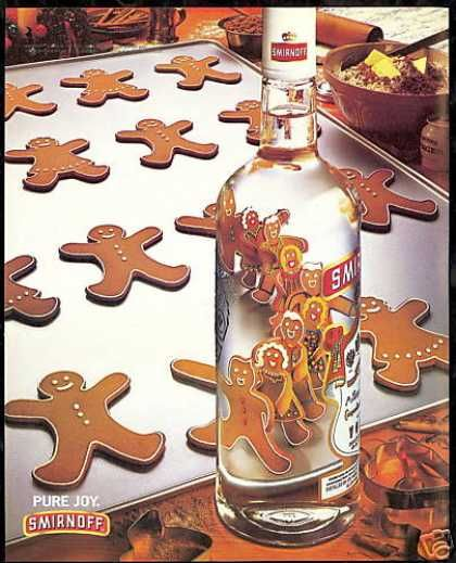 Ginger Bread Man Line Dance Smirnoff Vodka (1994)